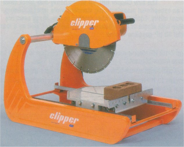 Clipper Block Buster Mini Compact 3 Hp Electric Masonry Saw
