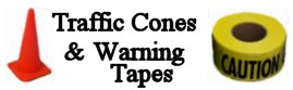 Traffic Cones & Warning Tapes