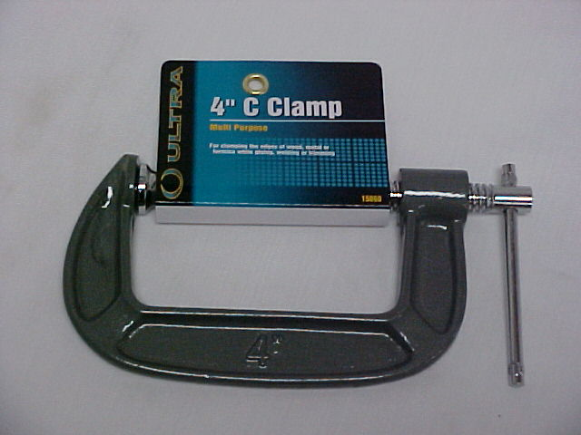 "Ultra 4"" Wood Working Or Corner Pole C - Clamp"