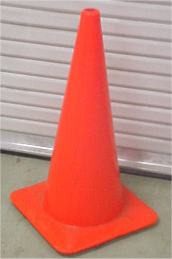 "28"" Orange Traffic Cone - Road/Highway Construction Safety Cone"