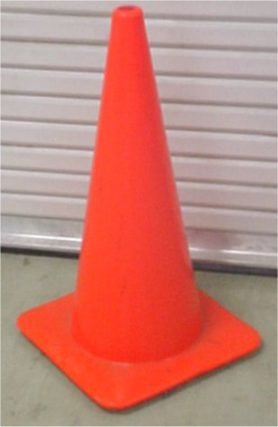 "18"" Orange Traffic Cone - Road/Highway Construction Safety Cone"
