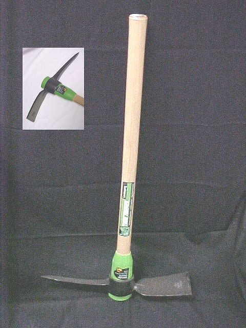 "Ames Clay Landscaping Pickaxe Mattock W/36"" Hardwood Handle"