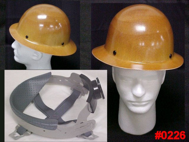 MSA Skullgard Protective Full Brim Construction Safety Hard Hat
