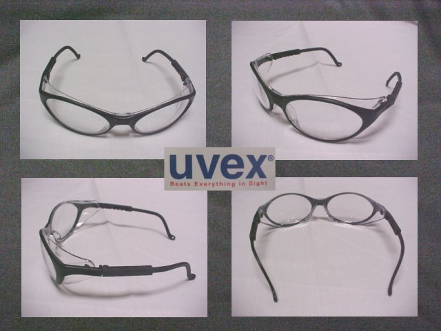 UVEX Bandit Sporty Design Safety Sun Glasses - W/Clear Lens