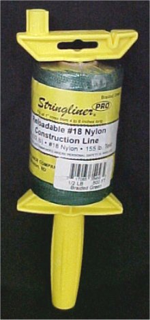 500' ProReel Stringliner Reel With Construction Line - Green