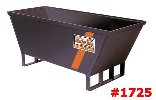 Steel Mortar Boxes : Heavy duty steel proform mortar box mixing boxes board