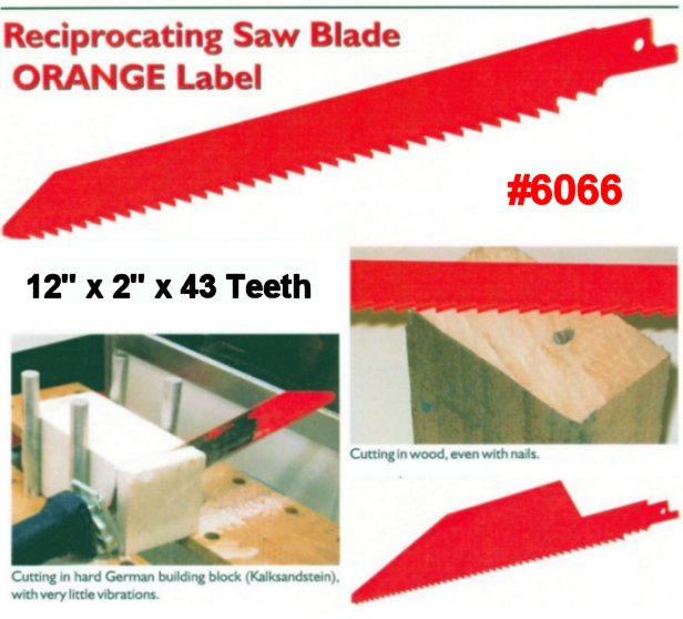 brick cutting reciprocating saw blades