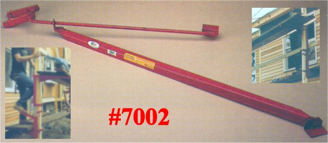 Roofing Pump Jacks : Qual craft pump jack scaffolding home roofing shingling