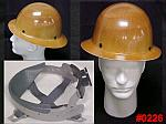 MSA Skullgard Protective Hard Hat With Full Brim