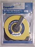 EMPIRE 100' Closed Case Steel Tape Measure - Measuring Tape