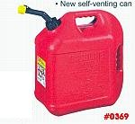 5 U.S. Gallon Gasoline Container