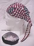Hot Nougies Doo Hat - Wavy American Flag