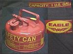 1 U.S. Gallon Eagle Safety Can
