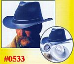 Cowboy Hard Hats - Assorted Western Owtlaw
