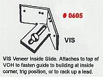 Masonry Guide VIS Veneer Inside Slide Corner Pole Fitting