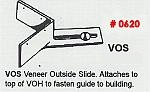 Masonry Guide VOS Veneer Outside Slide Corner Pole Fitting