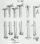 8 Foot Veneer Guide Pole Deluxe Set