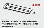 Masonry Guide HS Head Spreader Corner Pole Fitting