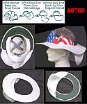 Full Brim Hardhat Sun Exposure Protection Shade Extension
