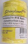 500' Braided Nylon Construction Line - Yellow
