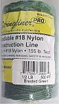 500' Braided Nylon Construction Line - Green