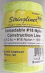 500' Braided Nylon Construction Line - Fluorescent Yellow