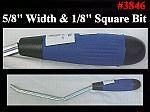 "5/8"" x 1/8"" Square Grapevine Jointer W/Comfort Grip Handle"