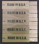 Standard Wooden Line Blocks - 10 Pack