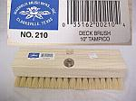 "10"" Tampico Deck Scrub Brush"
