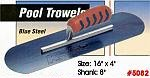 "16"" x 4"" Kraft Blue Steel Swimming Pool Concrete Trowel Tool"
