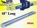 "48"" Round End GatorTools Light Weight Walking Trowel Kit"